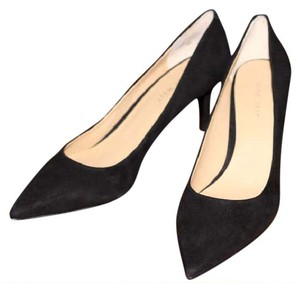 Nine West Suede Andriana Black Suede Pumps