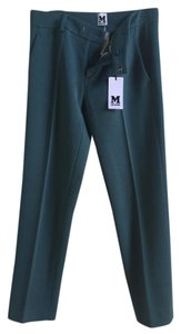 Missoni Wool Business Trousers Wide Leg Pants Black