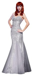 MNM Couture Evening Evening Gown Night Out Party Strapless Dress