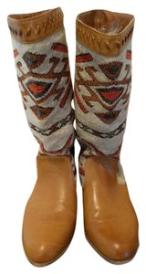 Other Camel Aztec Tribal Camel, Multi Boots