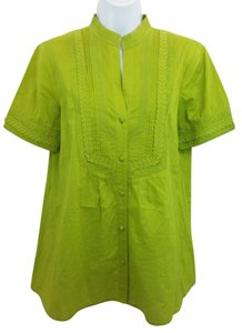 Escada Cotton Blouse Tunic