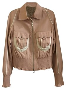 NOI Firenze Pink Leather Jacket