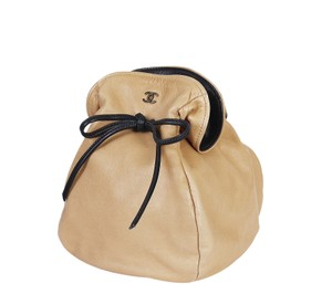 Chanel Clutch Satchel in Tan, Beige
