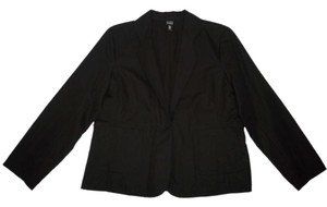 Eileen Fisher Linen Cotton Black Jacket