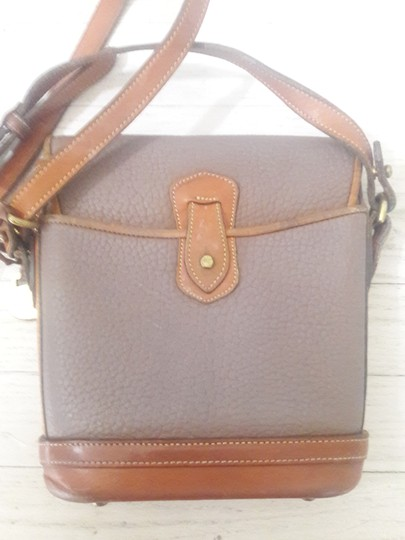 Dooney & Bourke Leather Saddle Cross Body Bag Image 2