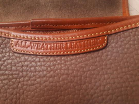 Dooney & Bourke Leather Saddle Cross Body Bag Image 3