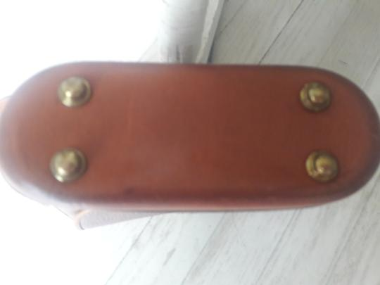 Dooney & Bourke Leather Saddle Cross Body Bag Image 6