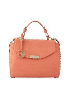 Versace Collection Satchel in Coral