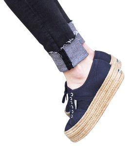 Superga Espadrille Sneakers Navy Blue Athletic