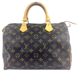 Louis Vuitton Lv Speedy30 Canvas Satchel in Monogram