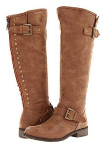 Madden Girl Cognac Paris Boots