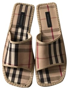 Burberry Stripes Sandals