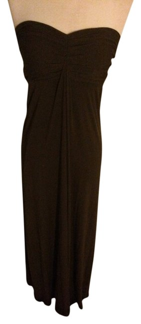chocolate brown Maxi Dress by Ferren Elizabeth Maxi Vintage
