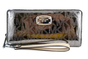 Michael Kors Michael Kors Jet Set Travel Continental Mirror Zip Around Wallet