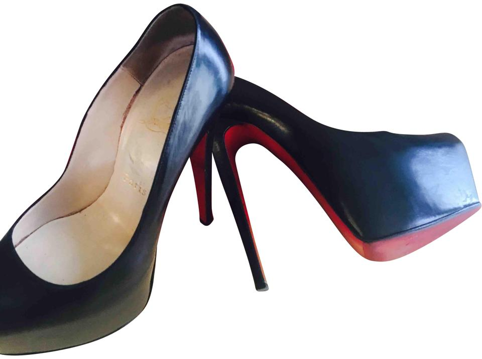 8dba51bc716a Christian Louboutin Black Daffodile 160 Kid Like-new 8.5 39 Pumps ...