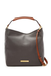 Marc by Marc Jacobs Large Soft Saddle Pebbled Leather Hobo Bag