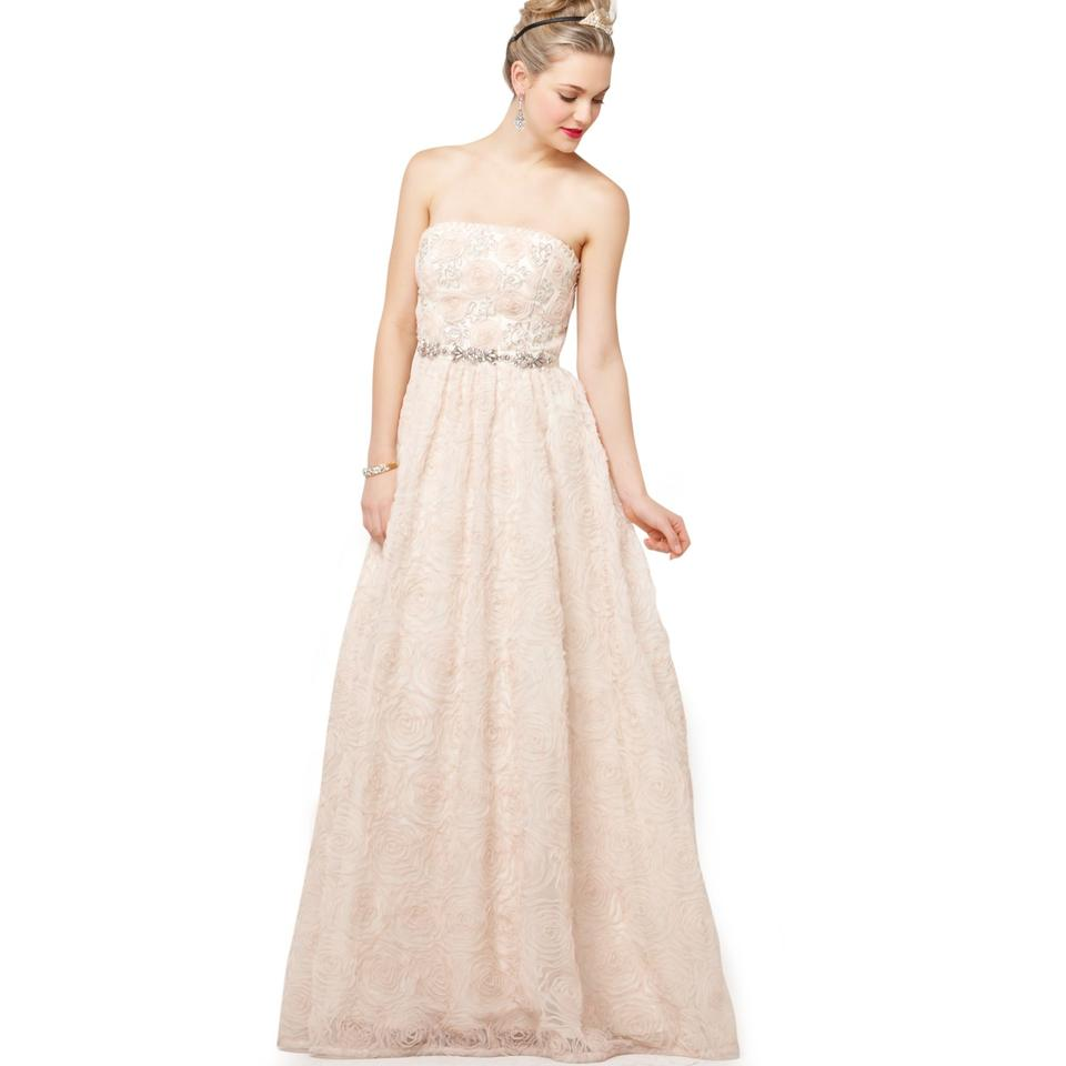 Adrianna Papell Wedding Gowns: Adrianna Papell Strapless Tulle Ball Gown Wedding Dress On
