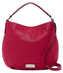 Marc by Marc Jacobs New Q Hillier Pebble Leather Shoulder 889732587313 M0009407 Hobo Bag