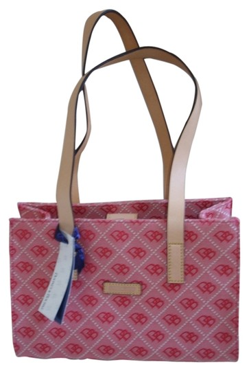 Preload https://item5.tradesy.com/images/dooney-and-bourke-east-west-shopper-handbag-leather-red-canvas-tote-1984689-0-0.jpg?width=440&height=440