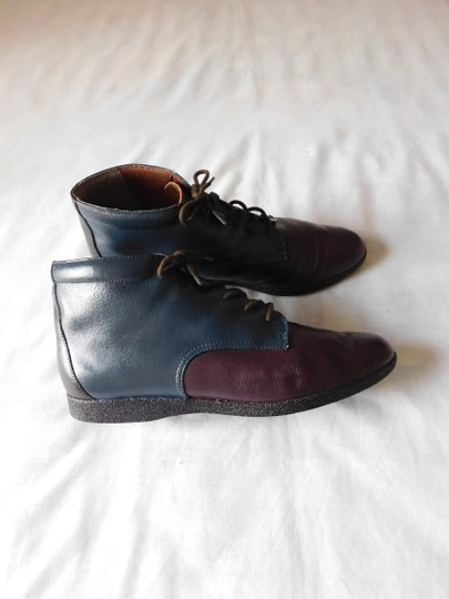Other Blue - Burgundy - Brown Boots Image 1