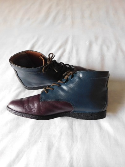 Other Blue - Burgundy - Brown Boots Image 2