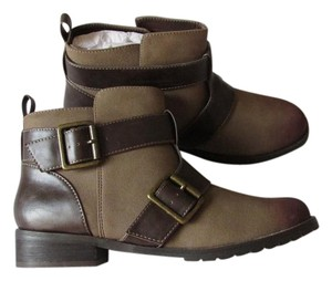 Restricted Soft Comfortable Strappy Tan - Brown Boots