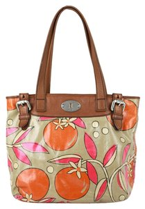Fossil Tote in multi-color