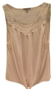 Charlotte Russe Top Cream