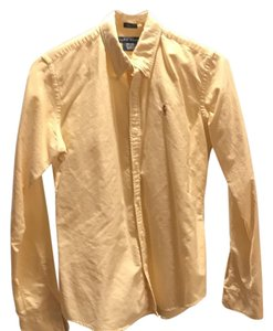 Ralph Lauren Button Down Shirt Yellow
