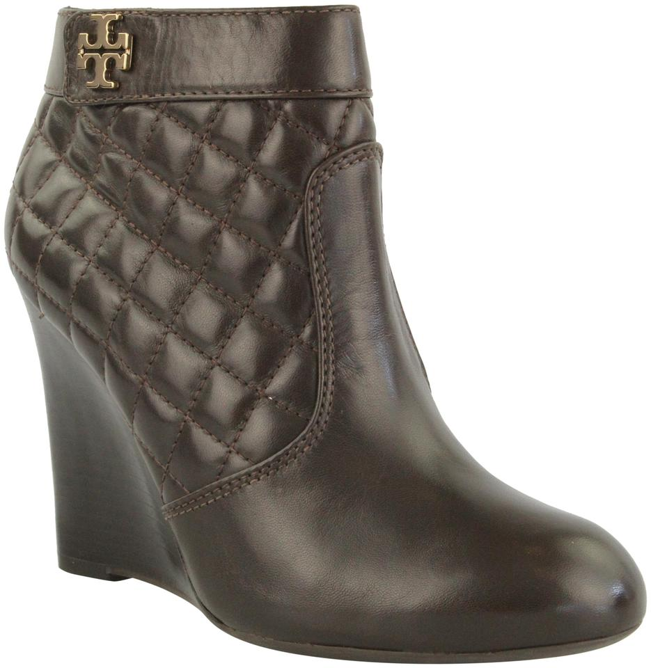 Tory Burch Coconut Leila Quilted Boots/Booties Size US 8 Regular ... : tory burch quilted boots - Adamdwight.com