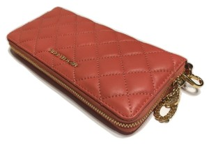 Michael Kors Michael Kors Alex Quilt Travel Continental Clutch Wallet