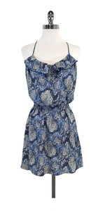 Parker short dress Scale Print Silk Racer Back on Tradesy