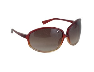 Oliver Peoples Large Red Ombre Sunglasses