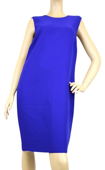 Preload https://img-static.tradesy.com/item/19847937/gucci-blue-silk-sleeveless-40-325070-zy607-4334-knee-length-formal-dress-size-4-s-0-1-650-650.jpg