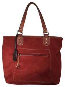 Tommy Hilfiger Tote in Burnt orange