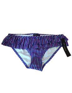 Marc by Marc Jacobs Marc by Marc Jacobs Women's Purple Ruffled Swimsuit Bikini Bottom M