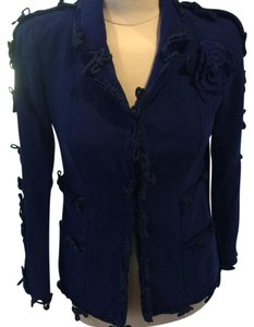 Chanel Electric Blue Blazer