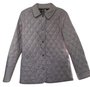 Burberry Pink Quilted Pink, pastel Jacket