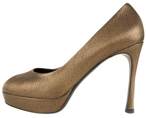 Saint Laurent Bronze Pumps
