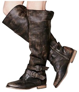 Free People Distressed brown Boots