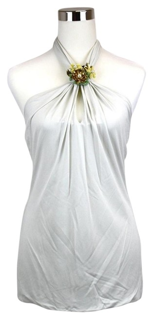Preload https://img-static.tradesy.com/item/19848199/gucci-off-white-women-s-wgreen-flower-brooch-s-310753-9062-halter-top-size-4-s-0-1-650-650.jpg