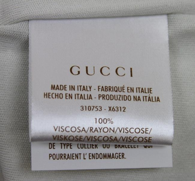 Gucci Womens Brooch Off White Halter Top Image 5
