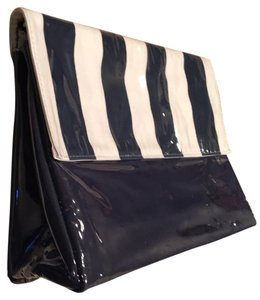 Estée Lauder Navy And White Travel Bag