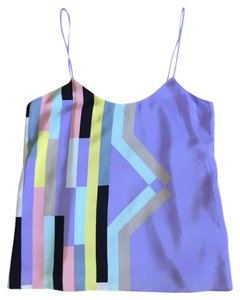 Tibi Top Multi color abstract