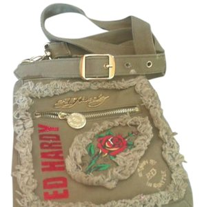 Ed Hardy Cool Unique Chic Good Size Cross Body Bag