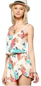 Lucca Couture Urban Outfitters Floral Dress