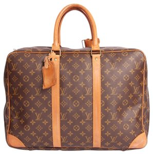 Louis Vuitton Briefcase Brown Travel Bag