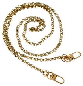 Gold metal chain