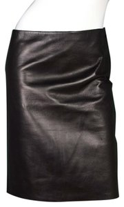 Calvin Klein Leather Leather Skirt