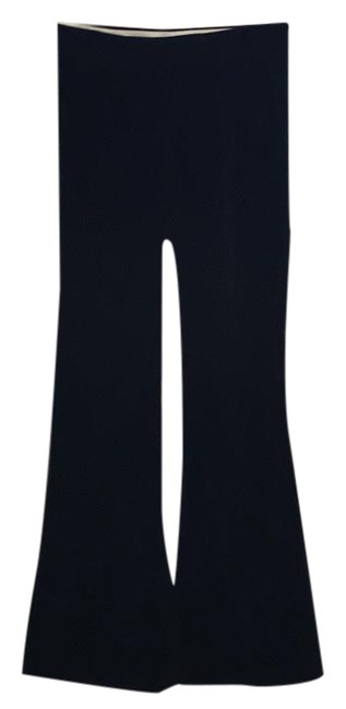 Theory Velvet Pants Flare Pants Rich Brown Image 1